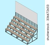 Bleacher Illustration Vector