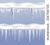 Icicles Tileable Borders Set O...