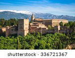 View Of The Famous Alhambra ...
