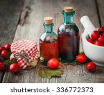 Jar Of Honey  Tincture Bottles...