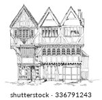 Medieval Tudor Age Long House ...