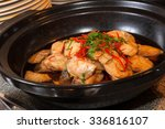 Onion Oil Steamed Fish