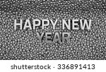 2016 text is standing among... | Shutterstock . vector #336891413