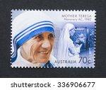 australia   circa 2015  a... | Shutterstock . vector #336906677