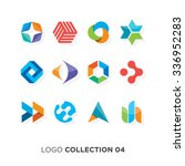 logo collection 06. vector... | Shutterstock .eps vector #336952283
