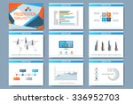 set of vector templates for... | Shutterstock .eps vector #336952703