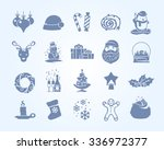 Set Of Silhouette Vector Icons...