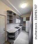 apartment kitchen | Shutterstock . vector #336981707