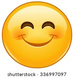 Smiling Emoticon With Smiling...