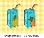pack of juice with drinking...