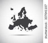 simple vector illustration map... | Shutterstock .eps vector #337041107