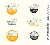 fresh food logo | Shutterstock .eps vector #337097717