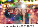 cinema  entertainment and... | Shutterstock . vector #337140827