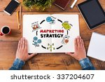 planning marketing strategy.... | Shutterstock . vector #337204607