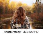 Autumn Portrait Of Girl...