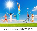 pure joy united success  | Shutterstock . vector #337264673