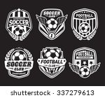 set of soccer football crests... | Shutterstock .eps vector #337279613