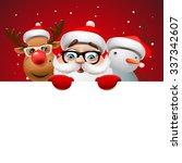Постер, плакат: Greeting card Christmas card