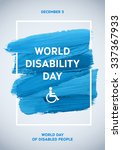 poster international day of... | Shutterstock .eps vector #337367933