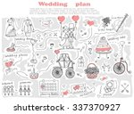 doodle line design of web... | Shutterstock .eps vector #337370927