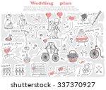 doodle line design of web... | Shutterstock .eps vector #337370927