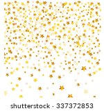 golden abstract stars on... | Shutterstock .eps vector #337372853