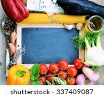 food ingredients  farm... | Shutterstock . vector #337409087