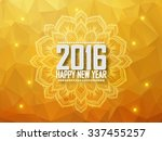 greeting card happy new year...   Shutterstock .eps vector #337455257