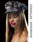 high fashion look.glamor... | Shutterstock . vector #337535423