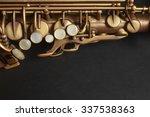 saxophone alto sax jazz music... | Shutterstock . vector #337538363