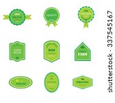 set of labels and logos for... | Shutterstock . vector #337545167