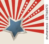 american stars and stripes  ... | Shutterstock .eps vector #337560473