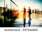 business people meeting... | Shutterstock . vector #337566803