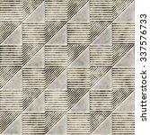 abstract geometric tile.... | Shutterstock . vector #337576733