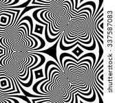 abstract 3d geometrical... | Shutterstock .eps vector #337587083