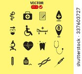 medical icons | Shutterstock .eps vector #337603727