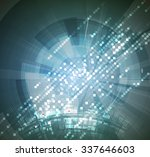 abstract tech background.