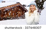 winter  vacation  christmas and ... | Shutterstock . vector #337648307