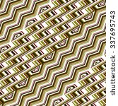 vector seamless pattern tribal... | Shutterstock .eps vector #337695743