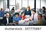 business people office working... | Shutterstock . vector #337770887