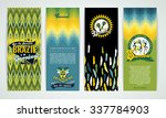 vertical banners set with... | Shutterstock .eps vector #337784903