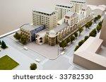 small buildings model | Shutterstock . vector #33782530