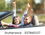 couple in the car outside | Shutterstock . vector #337860137