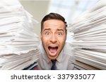 emotional stress. | Shutterstock . vector #337935077
