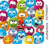 cartoon emoticon graphic design ... | Shutterstock .eps vector #337950497