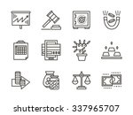 finance strategy  banking...   Shutterstock .eps vector #337965707