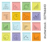 data analytics icons  graph and ...   Shutterstock .eps vector #337966643