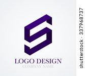 vector illustration logo letter ... | Shutterstock .eps vector #337968737