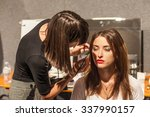 27 september  2015  milan ... | Shutterstock . vector #337990157