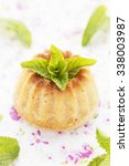 cottage cheese muffin. | Shutterstock . vector #338003987